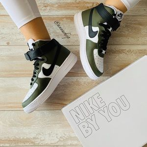 NWT Nike ID Custom Air Force 1